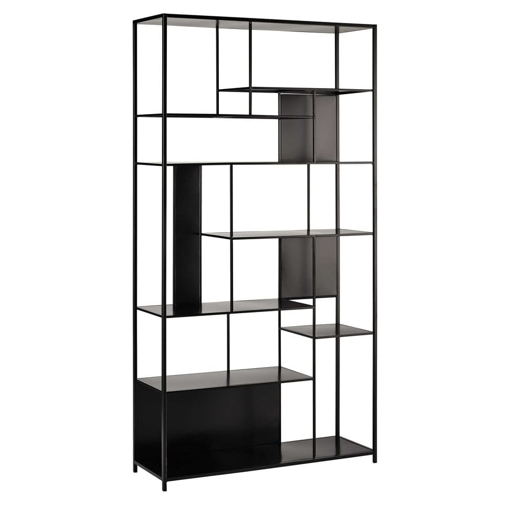 tag re en m tal noire simply maisons du monde. Black Bedroom Furniture Sets. Home Design Ideas