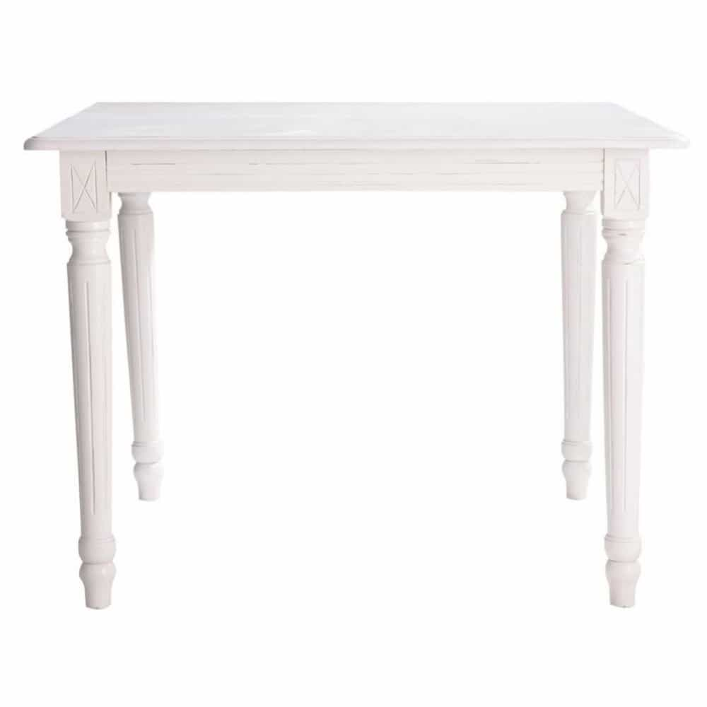 Table Extensible Maison Du Monde.Extendible 4 8 Seater Dining Table In White W 100 180cm