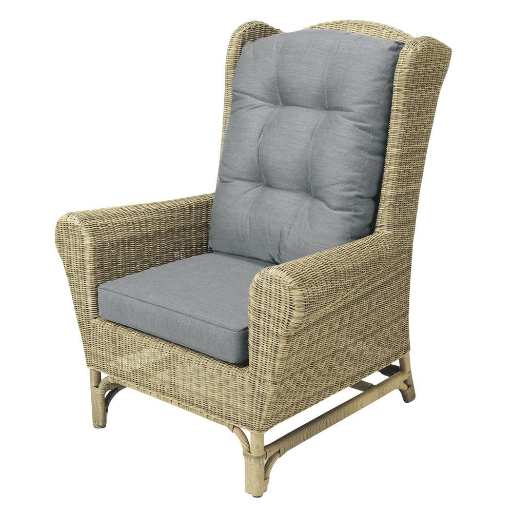 fauteuil berg re de jardin en r sine tress e st rapha l. Black Bedroom Furniture Sets. Home Design Ideas