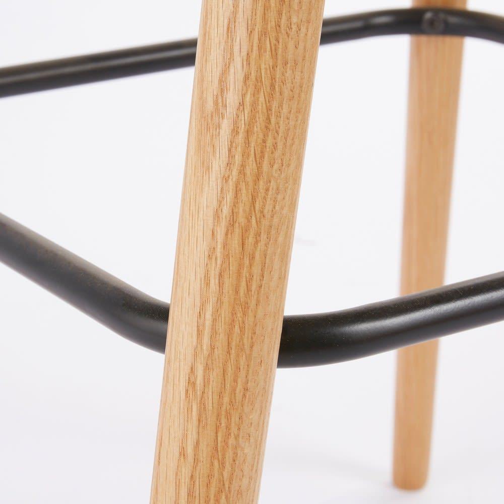 fauteuil de bar vintage marron davis maisons du monde. Black Bedroom Furniture Sets. Home Design Ideas