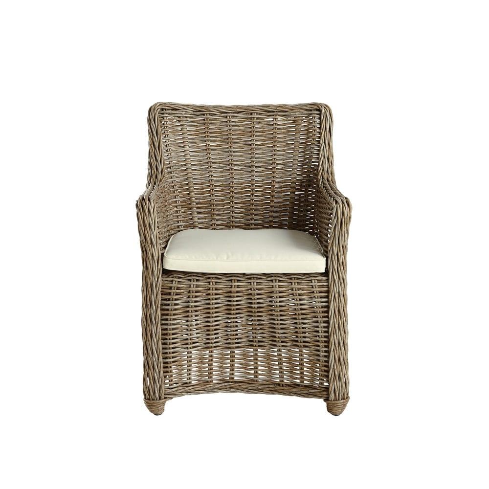 fauteuil de jardin en r sine tress e belize maisons du monde. Black Bedroom Furniture Sets. Home Design Ideas