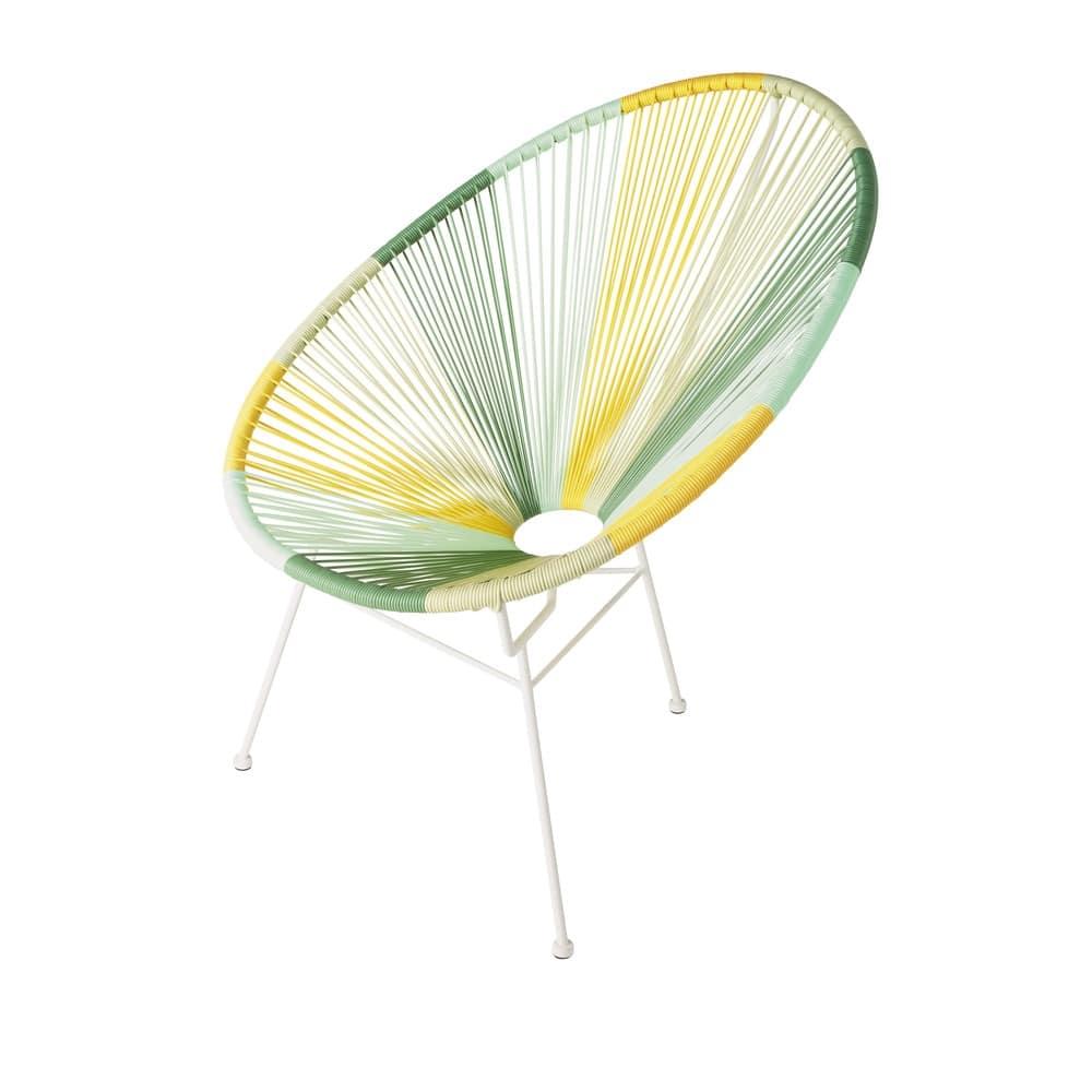 fauteuil de jardin rond multicolore copacabana maisons. Black Bedroom Furniture Sets. Home Design Ideas