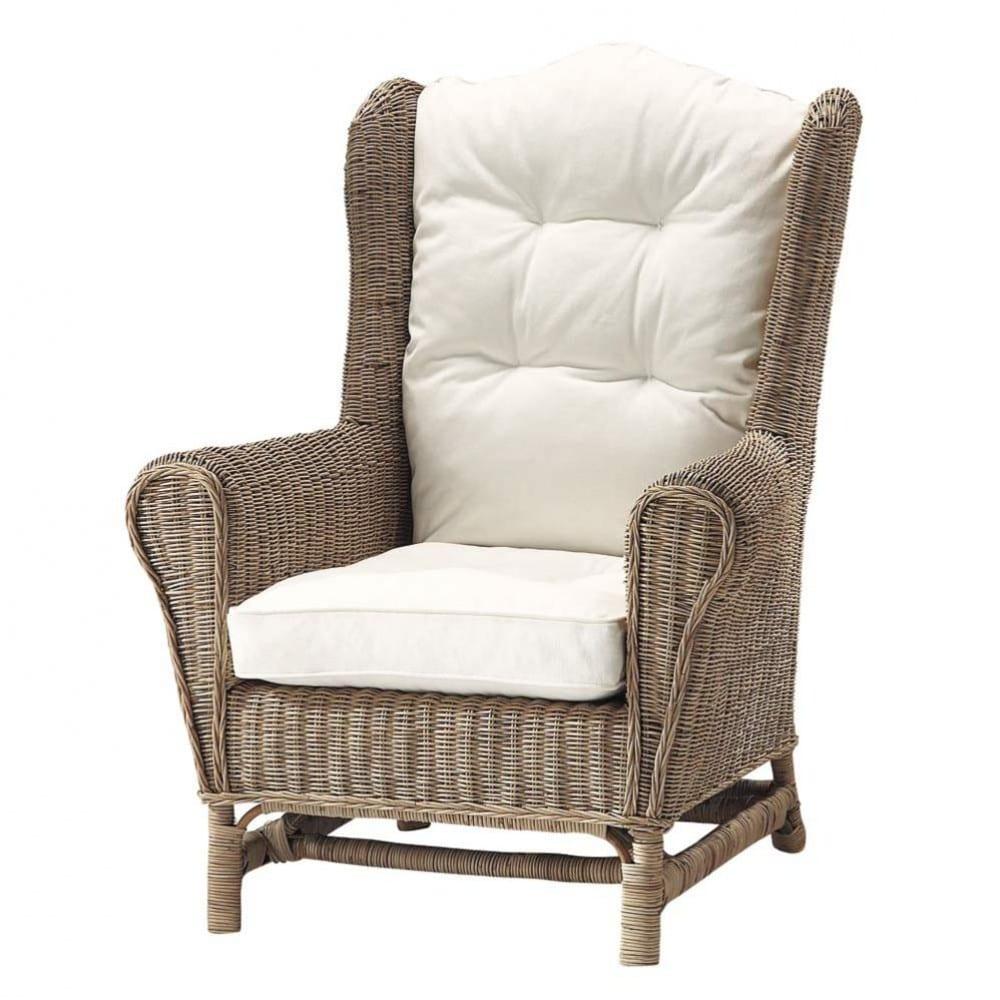 hampton - fauteuil en rotin