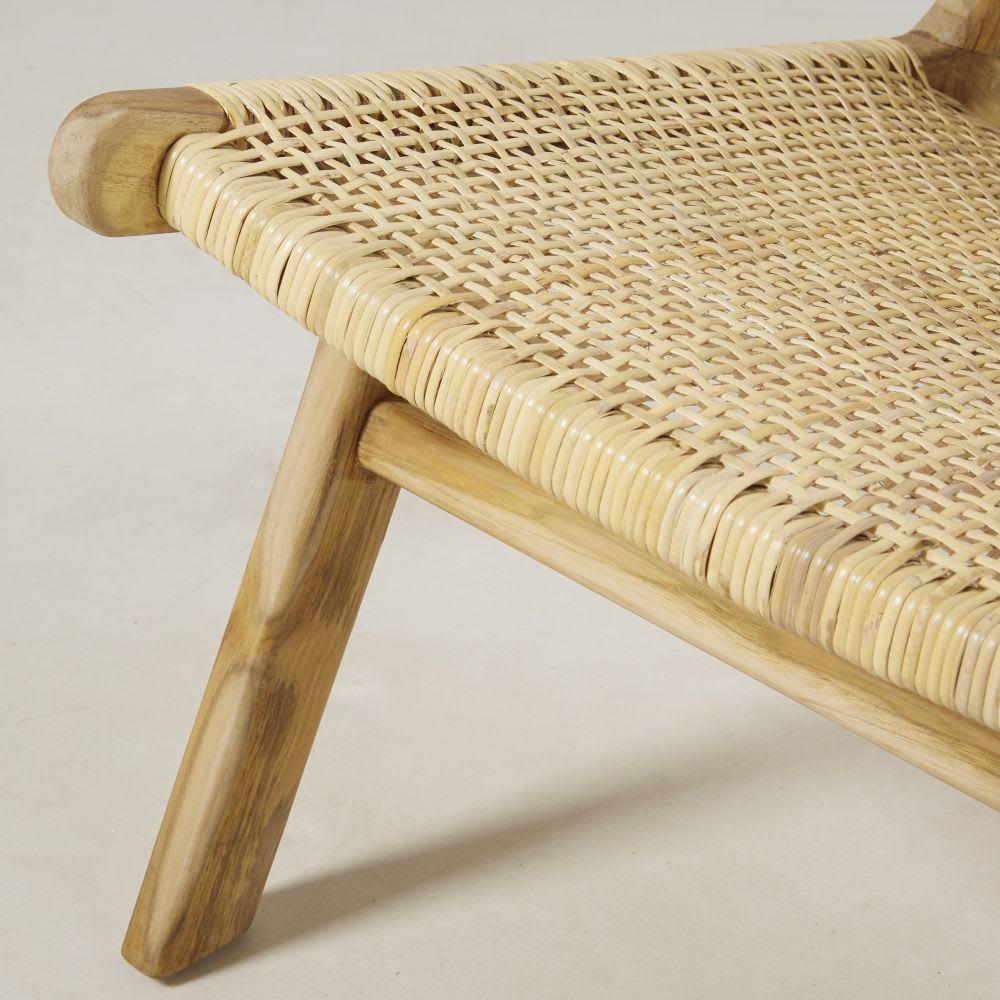 fauteuil en rotin tress ticao maisons du monde. Black Bedroom Furniture Sets. Home Design Ideas