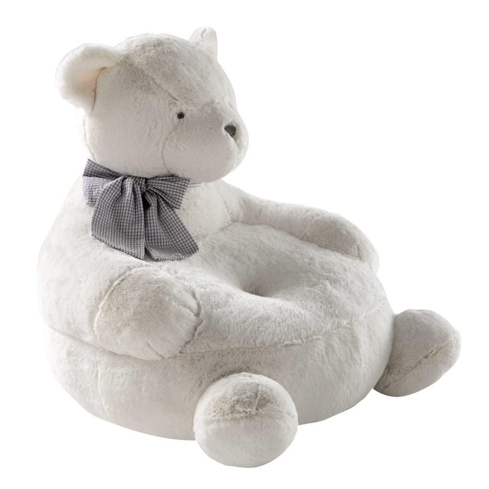 fauteuil enfant ours blanc gaspard maisons du monde. Black Bedroom Furniture Sets. Home Design Ideas