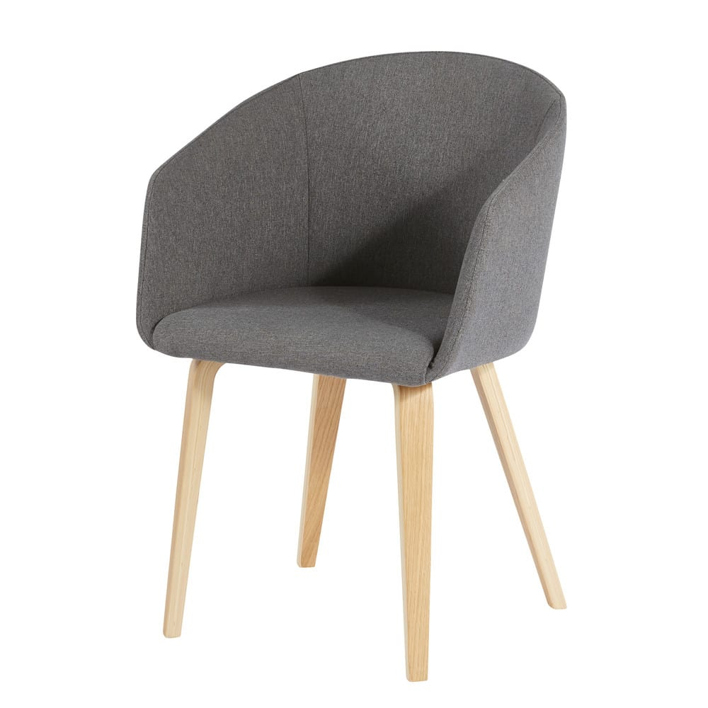 pernety - fauteuil gris