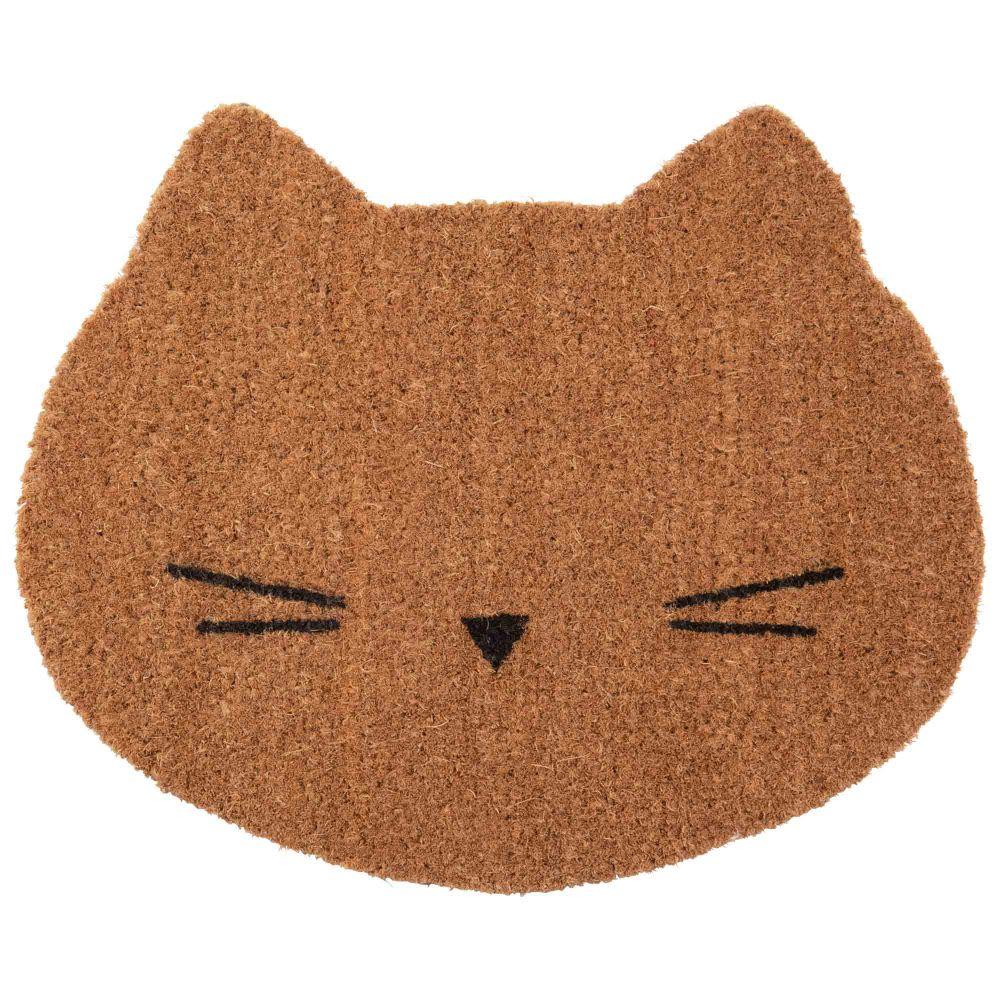 Fussmatte Katze Aus Kokosfasern 38x45 Girly Maisons Du Monde