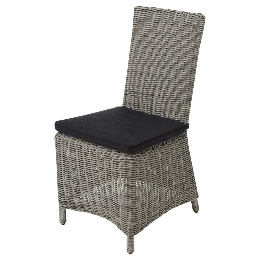 Garden chair in grey resin wicker cape town