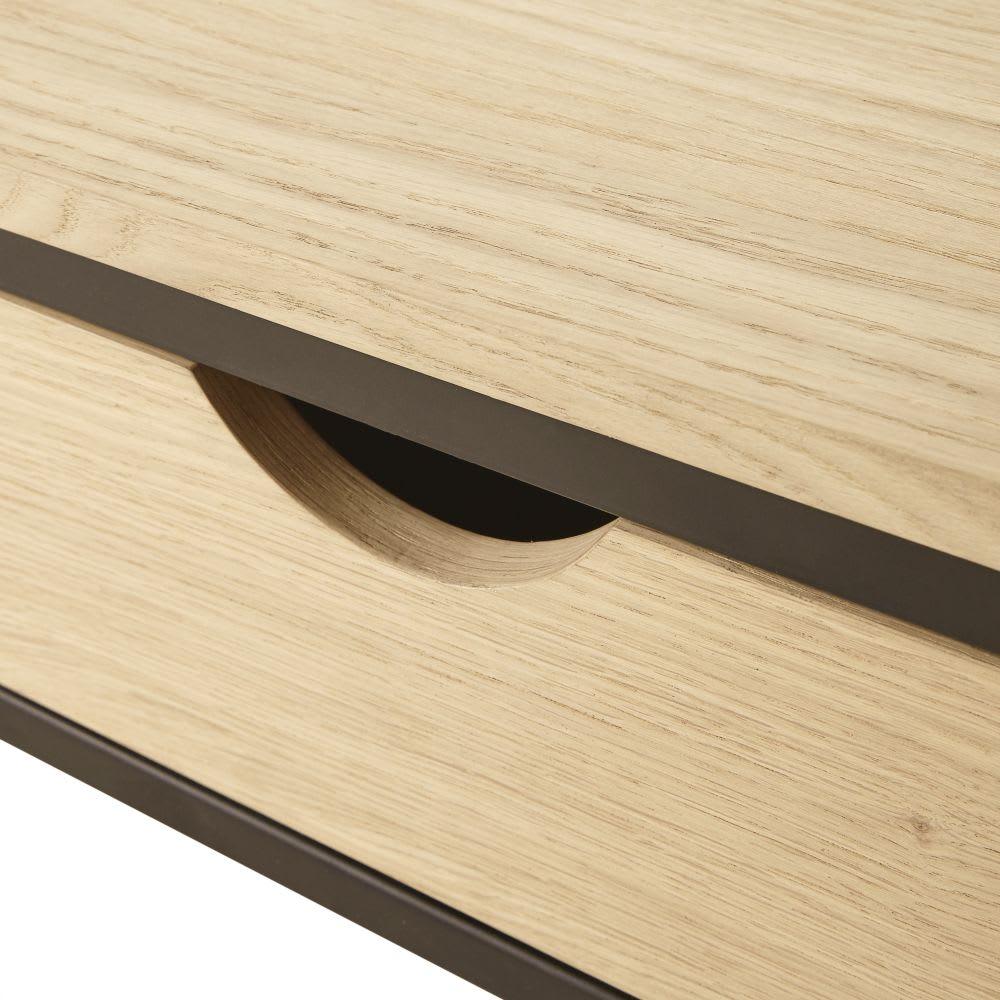 garderobe aus metall mit 1 schublade und 1 einlegeboden. Black Bedroom Furniture Sets. Home Design Ideas