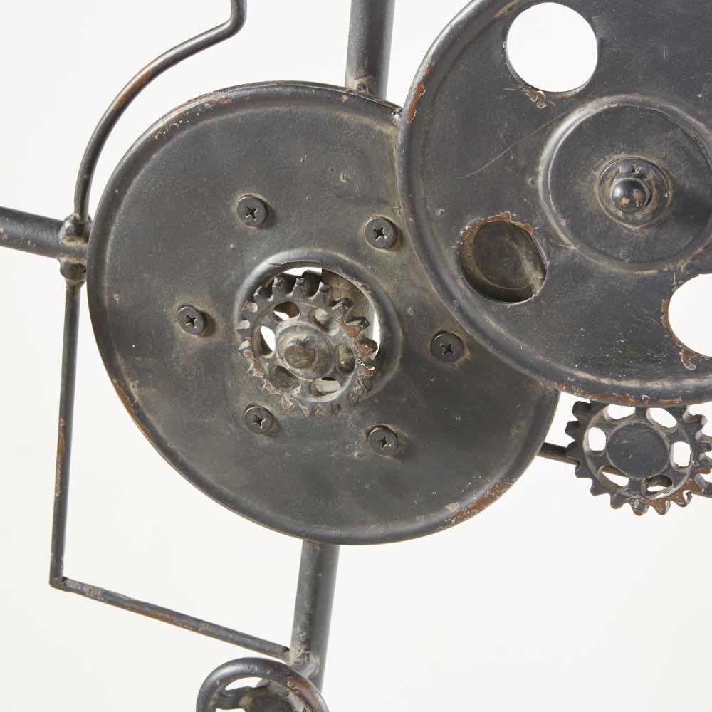 garderobe im industiestil aus metall in antikoptik. Black Bedroom Furniture Sets. Home Design Ideas