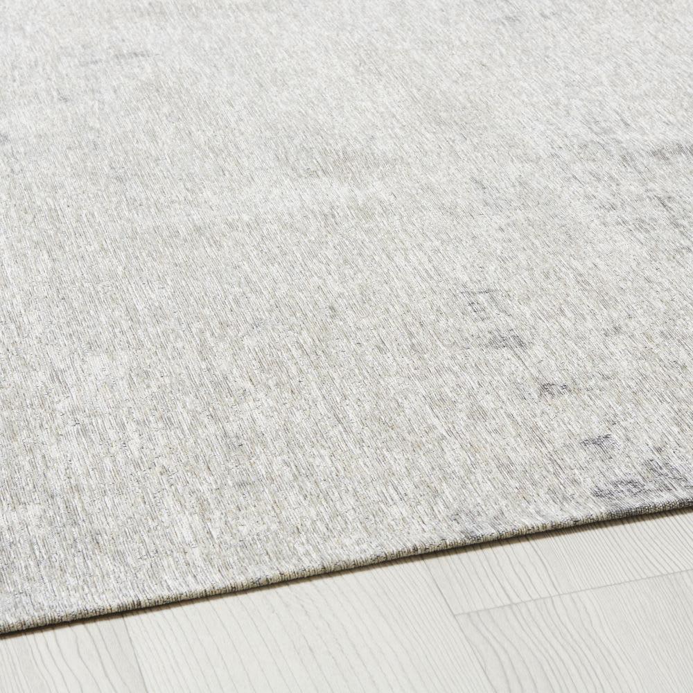 gewebter jacquard teppich in grau 200x200 feel maisons. Black Bedroom Furniture Sets. Home Design Ideas