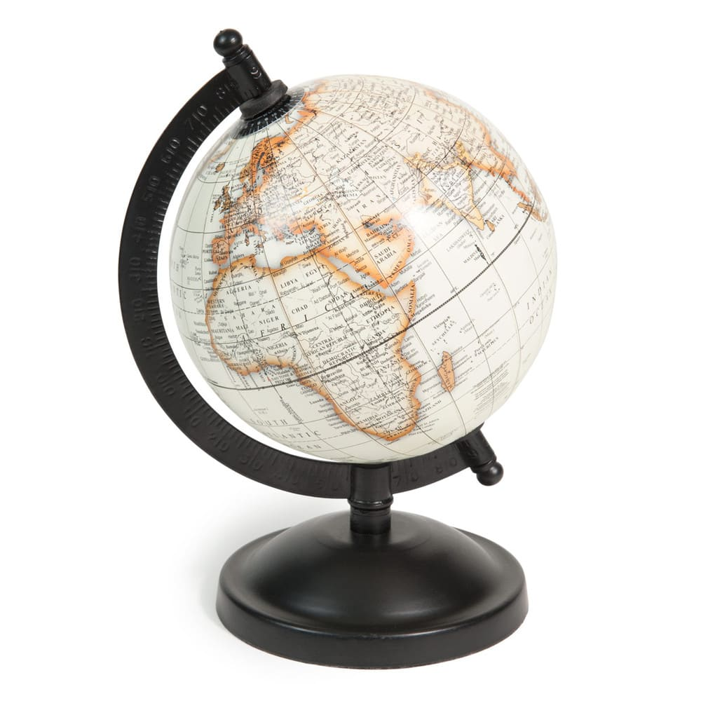 globe terrestre carte du monde athinigane maisons du monde. Black Bedroom Furniture Sets. Home Design Ideas