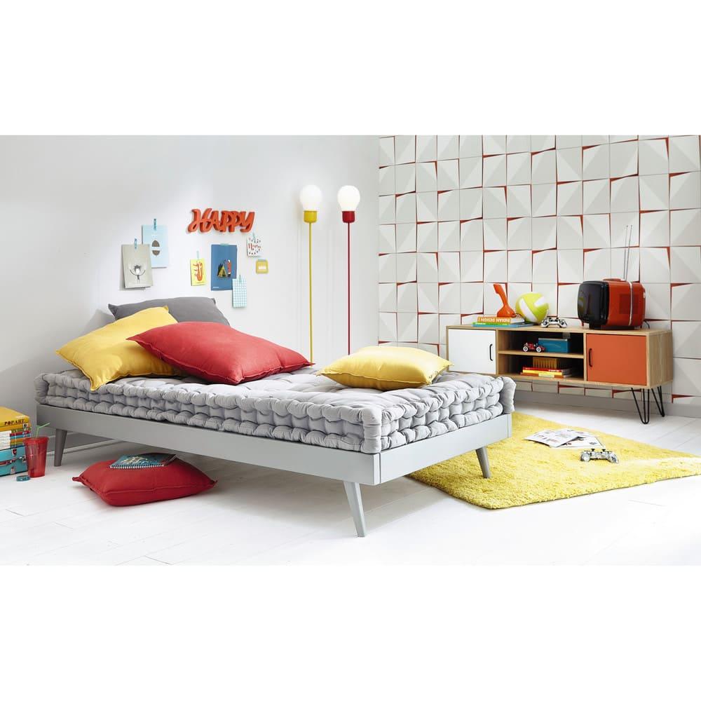Materassi Maison Du Monde.Grey Cotton Mattress 90x190cm