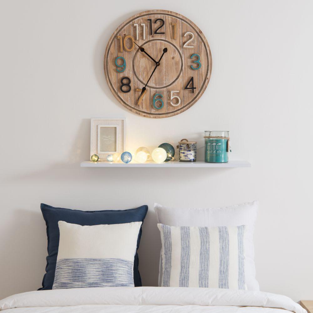 guirlande lumineuse 10 led boules bleues maisons du monde. Black Bedroom Furniture Sets. Home Design Ideas