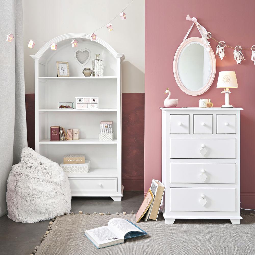 guirlande lumineuse maisons rose 8 led house maisons du. Black Bedroom Furniture Sets. Home Design Ideas