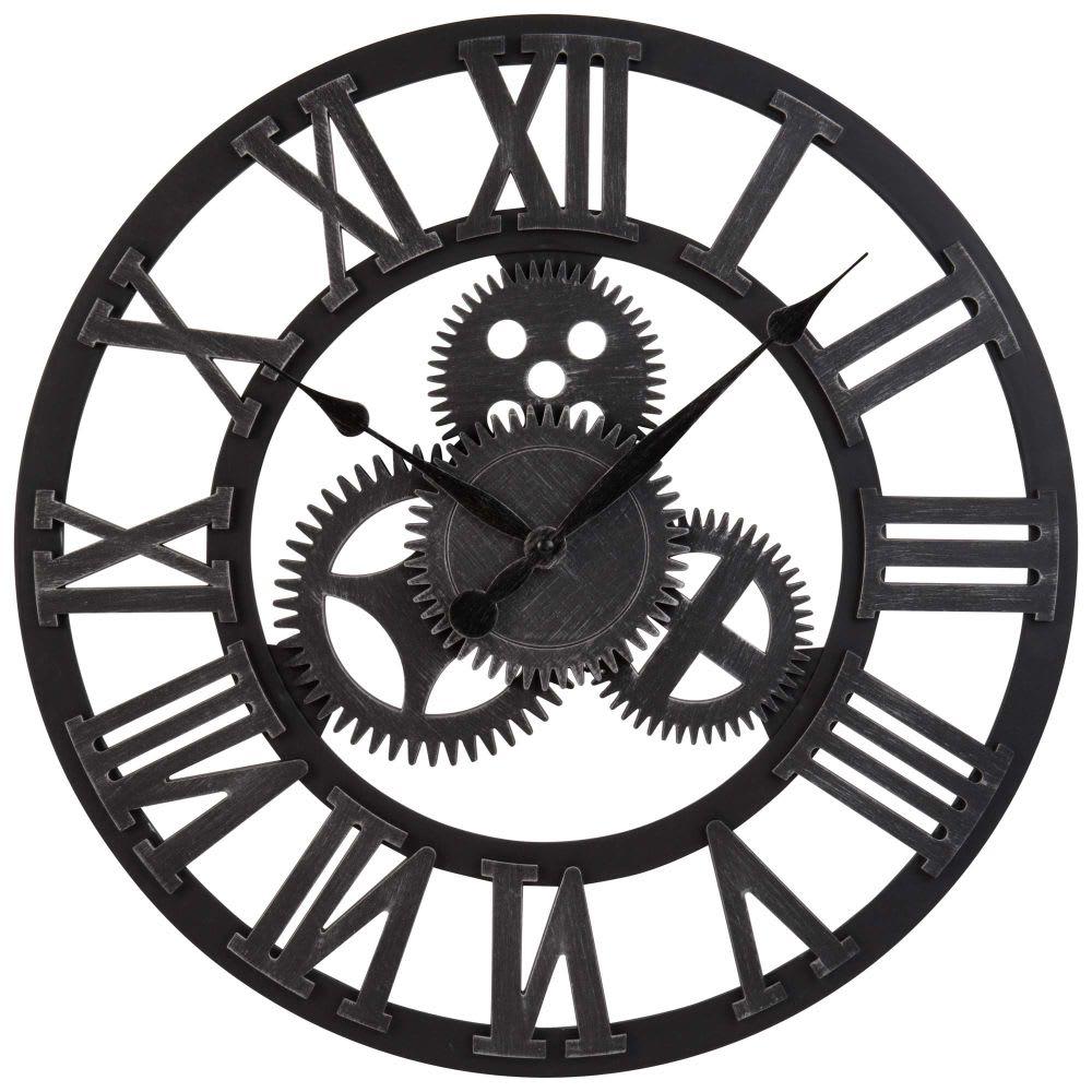 Horloge rouages lowell maisons du monde - Horloge a poser maison du monde ...