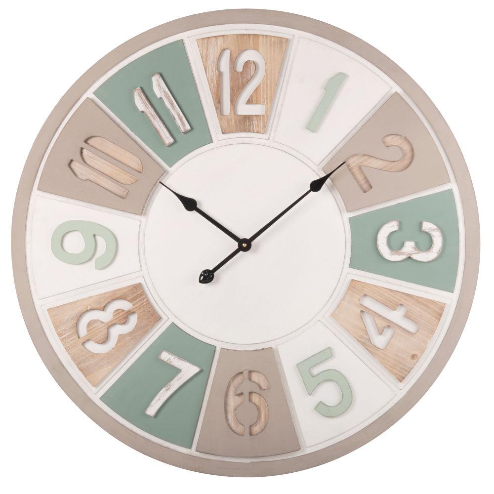Horloge d80 ilona maisons du monde - Horloge a poser maison du monde ...