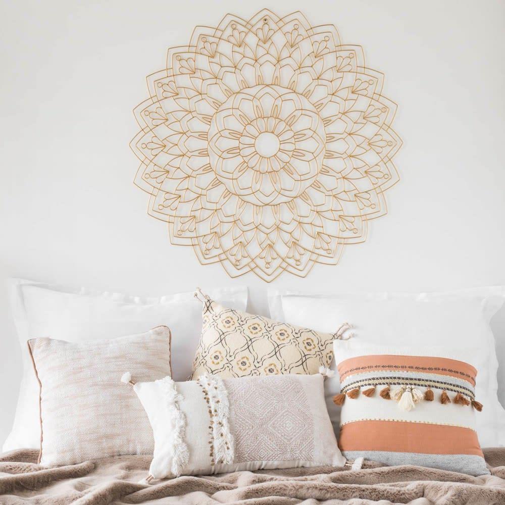 housse de coussin berb re en coton 50x30 beaver maisons. Black Bedroom Furniture Sets. Home Design Ideas