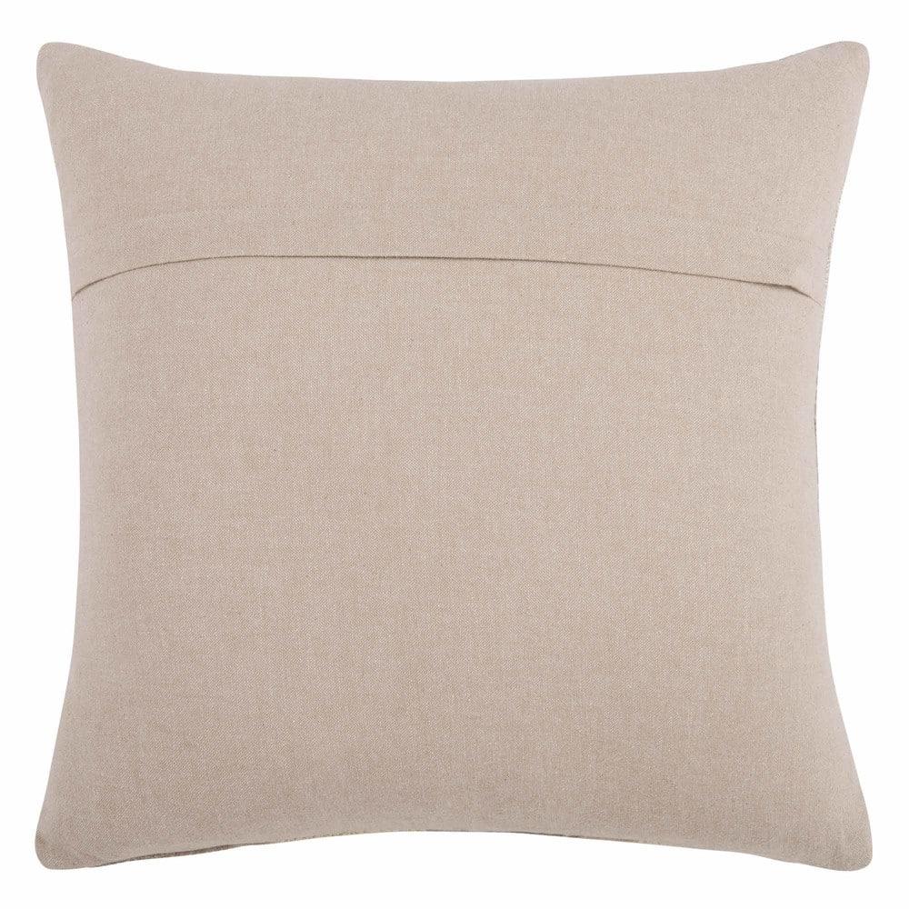 housse de coussin brod e beige 40x40 oran maisons du monde. Black Bedroom Furniture Sets. Home Design Ideas