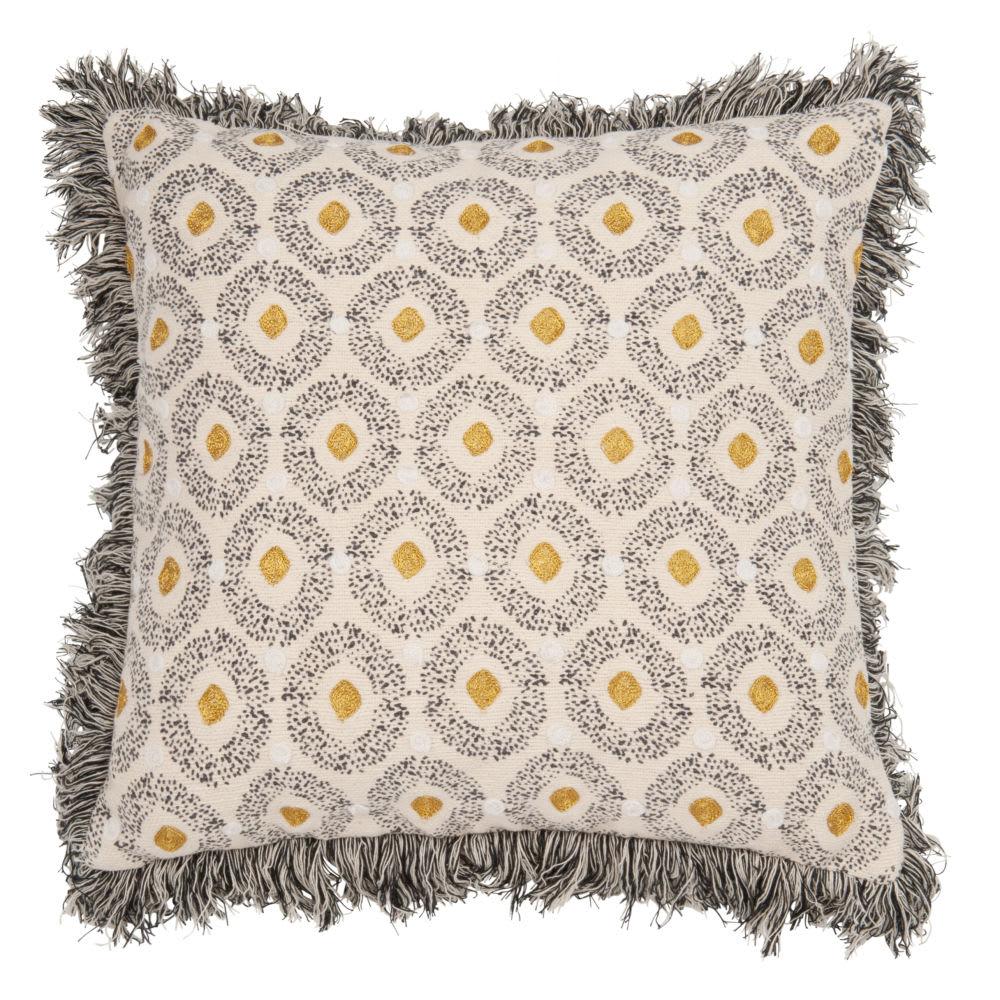 Housse de coussin en coton à franges 40x40 Mohammedia