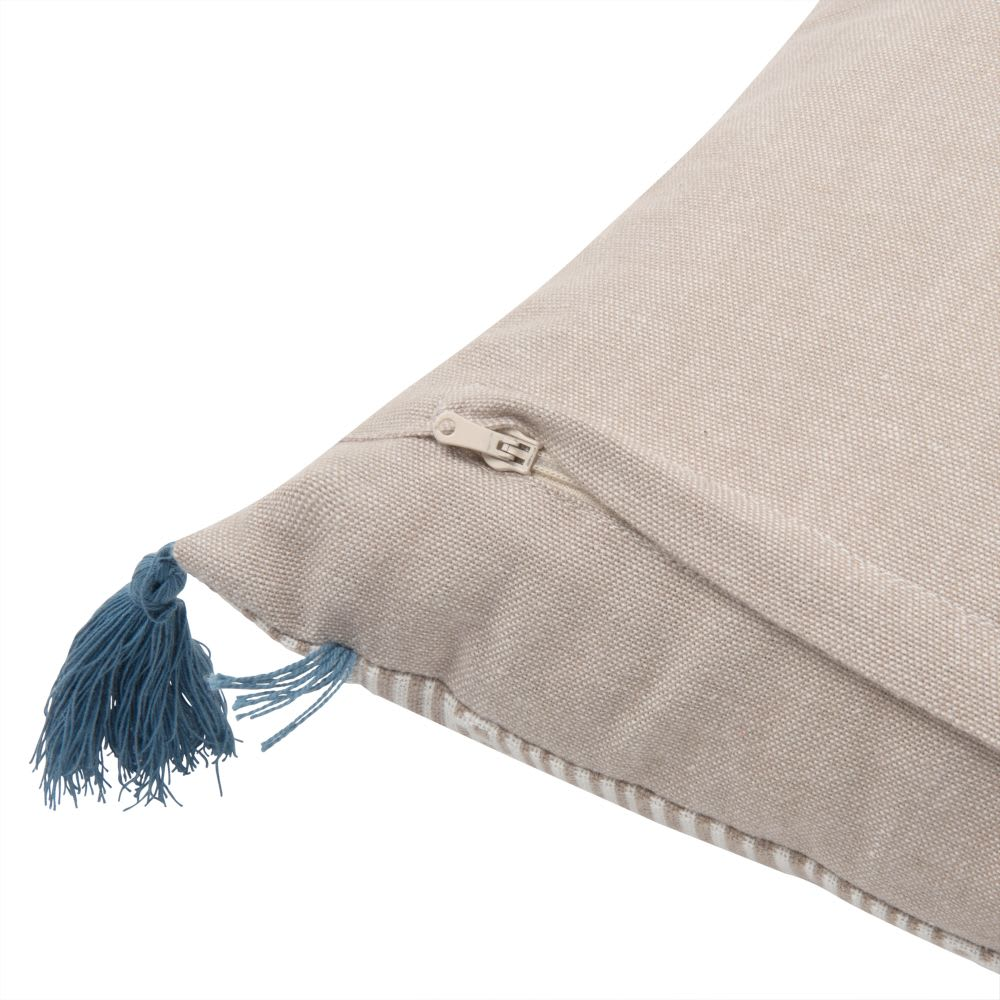 housse de coussin en coton motifs graphiques 30x50 fidji. Black Bedroom Furniture Sets. Home Design Ideas