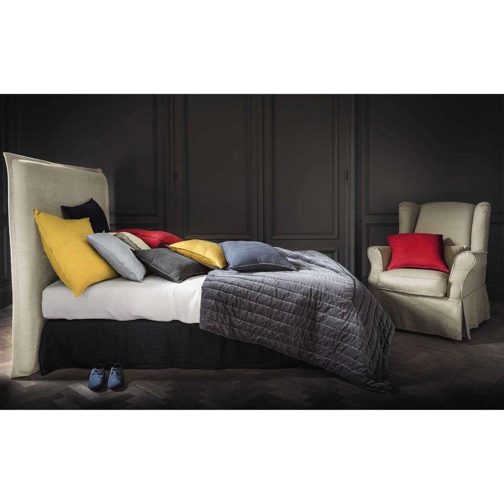 housse de fauteuil en lin cottage maisons du monde. Black Bedroom Furniture Sets. Home Design Ideas