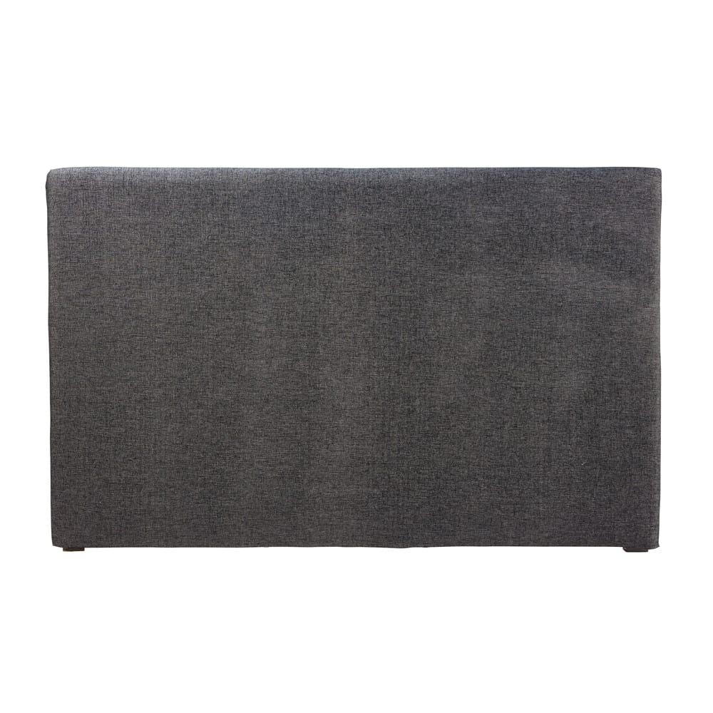housse de t te de lit 180 gris carbone morphee maisons. Black Bedroom Furniture Sets. Home Design Ideas