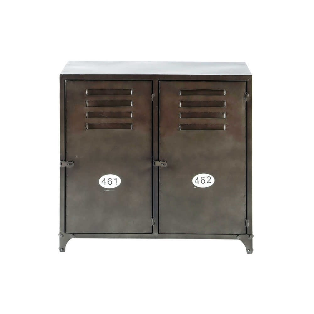 Industrial 2 Door Metal Sideboard Wayne Maisons Du Monde