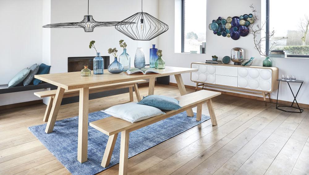 Tavolino da divano nero in metallo l cm curtis maisons du monde