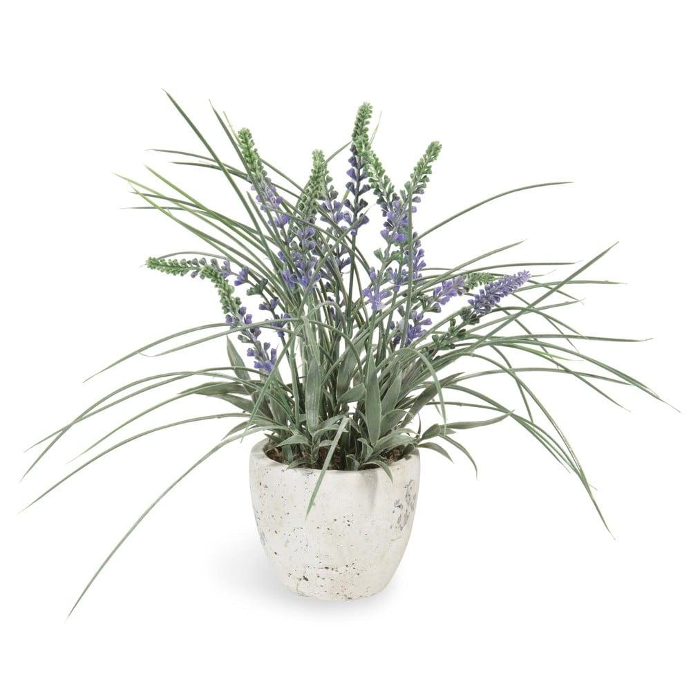 Kunstlicher Lavendel Im Topf H 31 Cm Maisons Du Monde