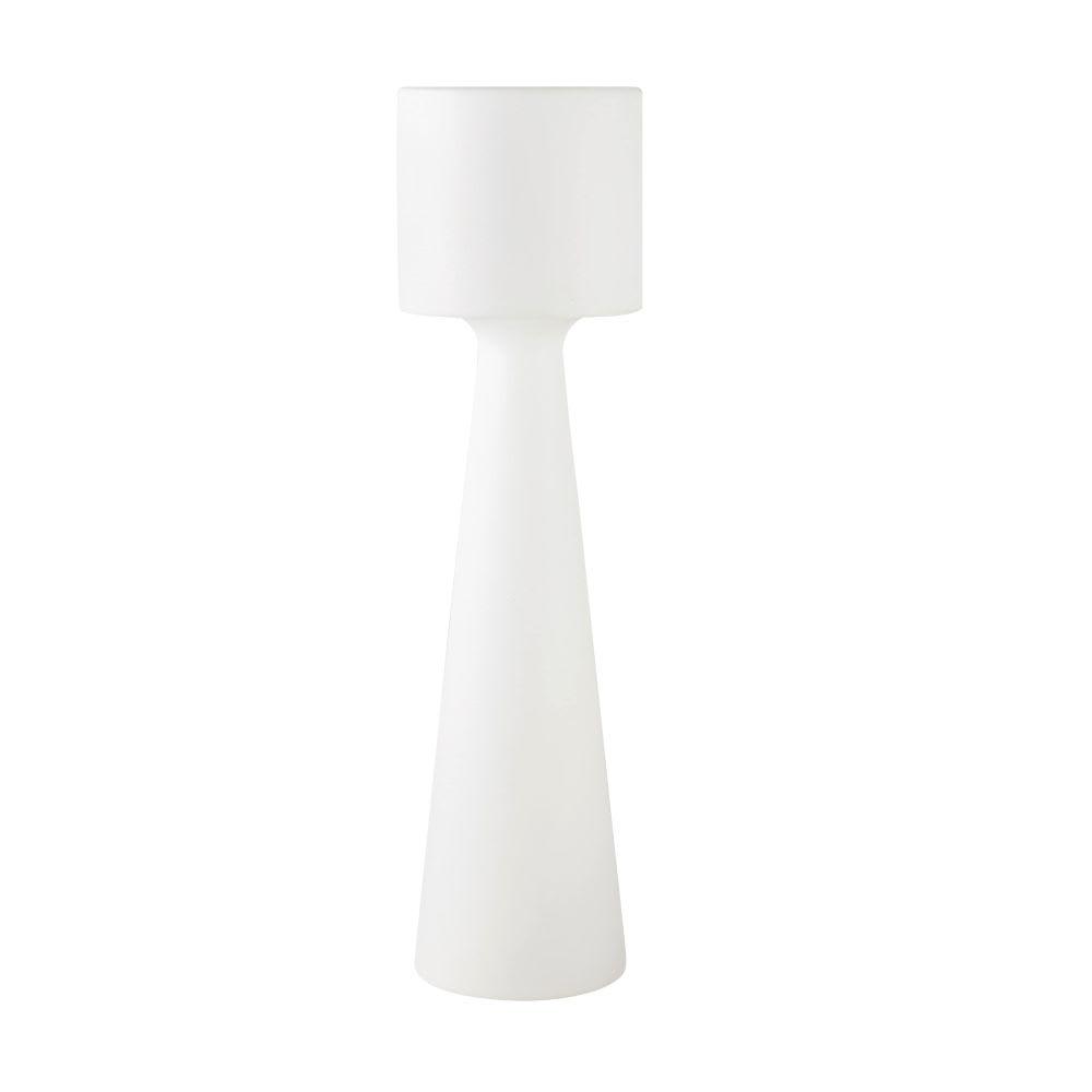 lodge - lampadaire d'extérieur blanc h138