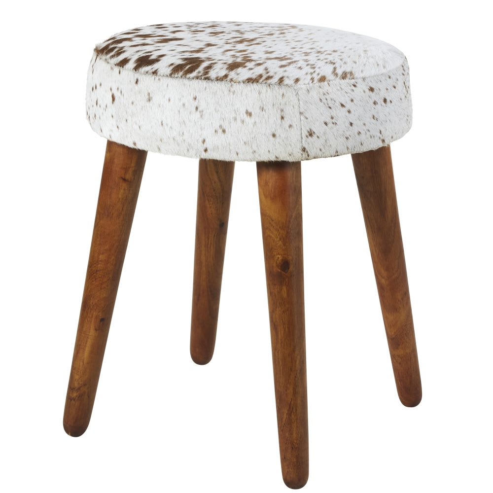 Marvelous Leather And Eucalyptus Stool Pdpeps Interior Chair Design Pdpepsorg