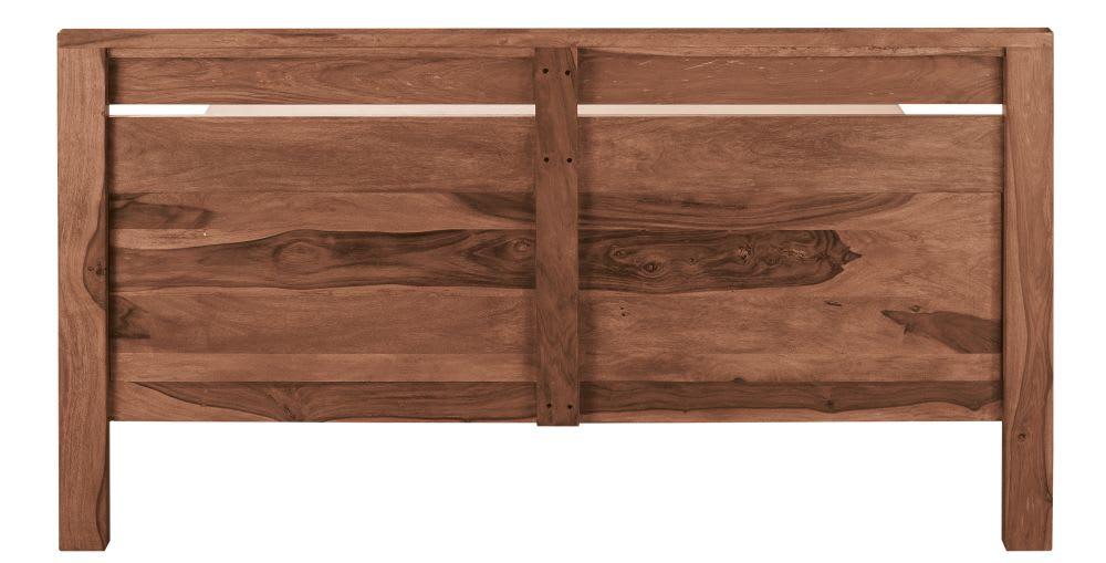 Letto 160x200 in massello di legno di sheesham Stockholm | Maisons ...