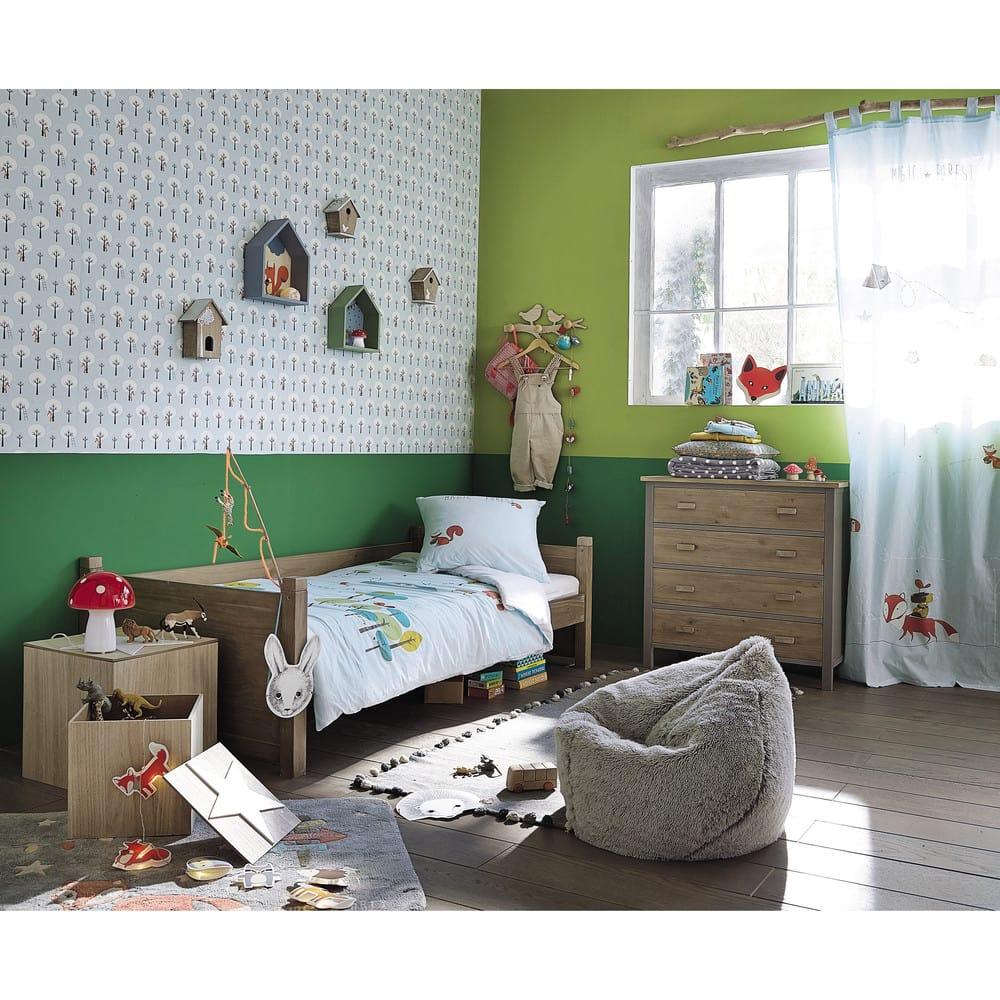 lit cabane enfant 90x190 forest maisons du monde. Black Bedroom Furniture Sets. Home Design Ideas