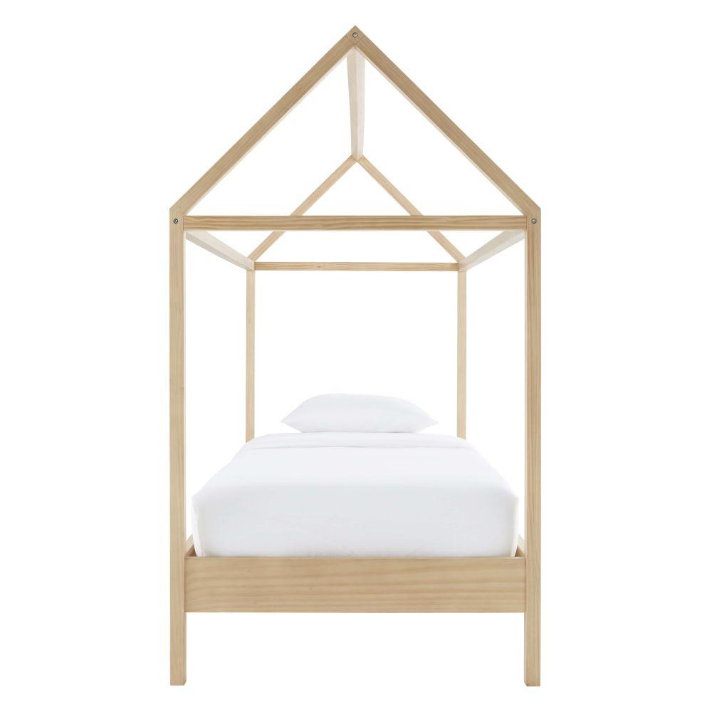 lit cabane enfant 90x190 en pin wild maisons du monde. Black Bedroom Furniture Sets. Home Design Ideas