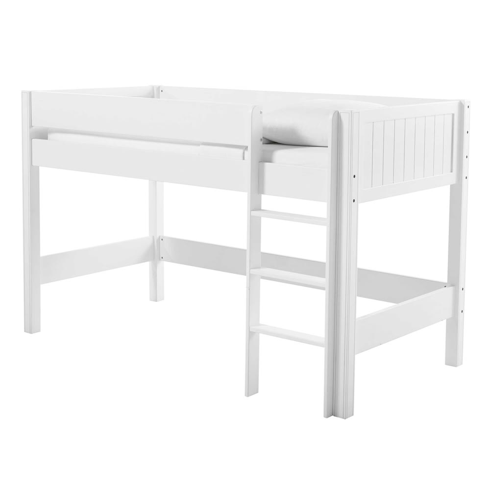 lit mezzanine enfant 90x190 blanc tonic maisons du monde. Black Bedroom Furniture Sets. Home Design Ideas