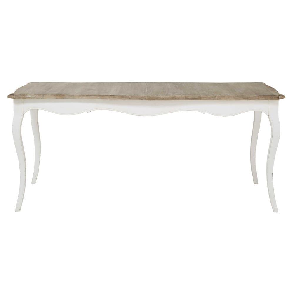 Table Extensible Maison Du Monde.Mango Wood Extendible 8 10 Seater Dining Table W 180 220 Cm