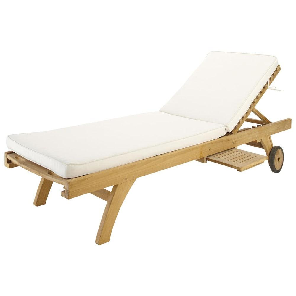 matelas bain de soleil cru sunny maisons du monde. Black Bedroom Furniture Sets. Home Design Ideas