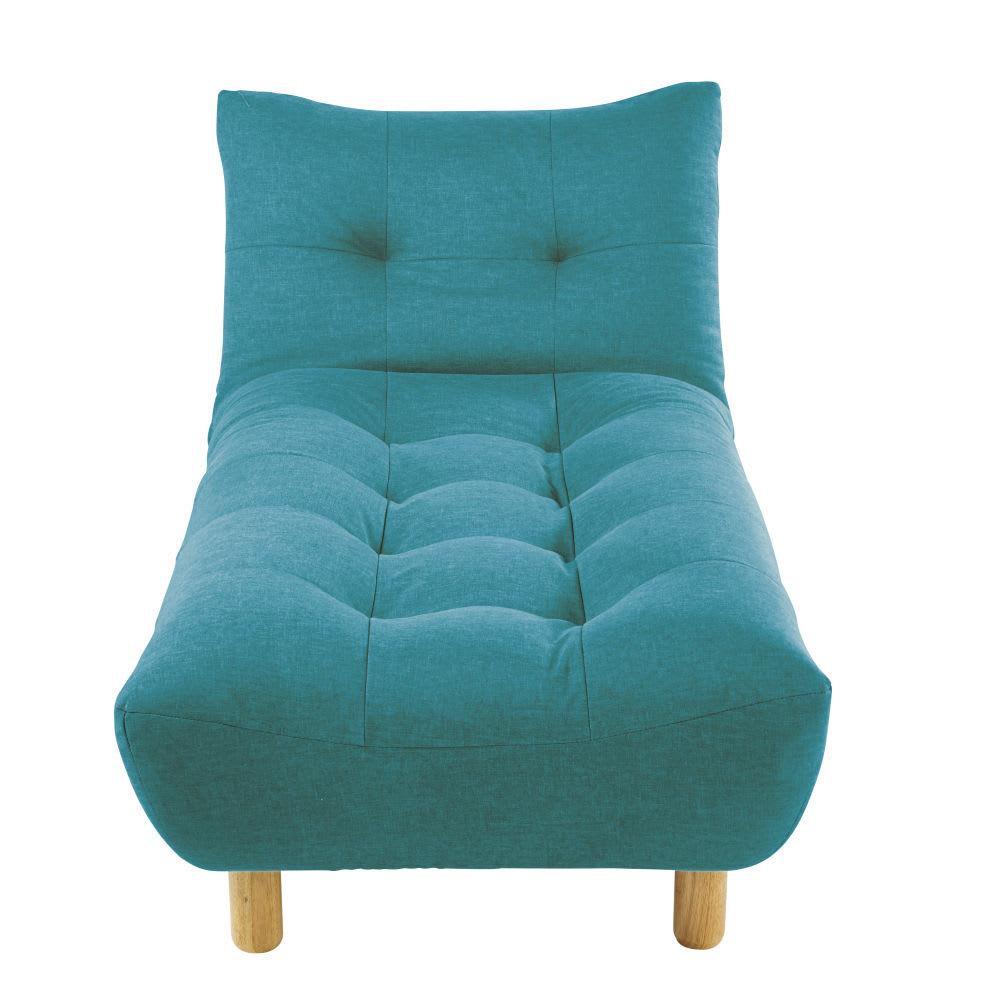 m ridienne convertible turquoise cloud maisons du monde. Black Bedroom Furniture Sets. Home Design Ideas