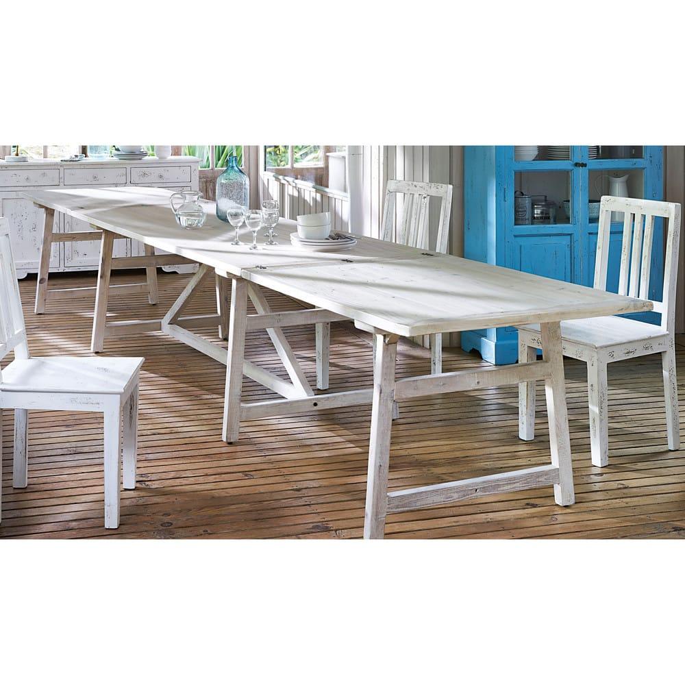 Mesa de comedor extensible para 10 a 18 personas L.237/474 Arezzo ...