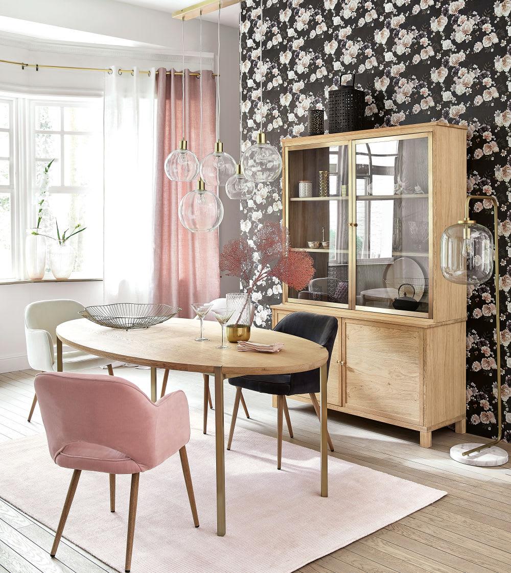 Mesa de comedor ovalada para 6/8 personas L.200 Karla | Maisons du Monde
