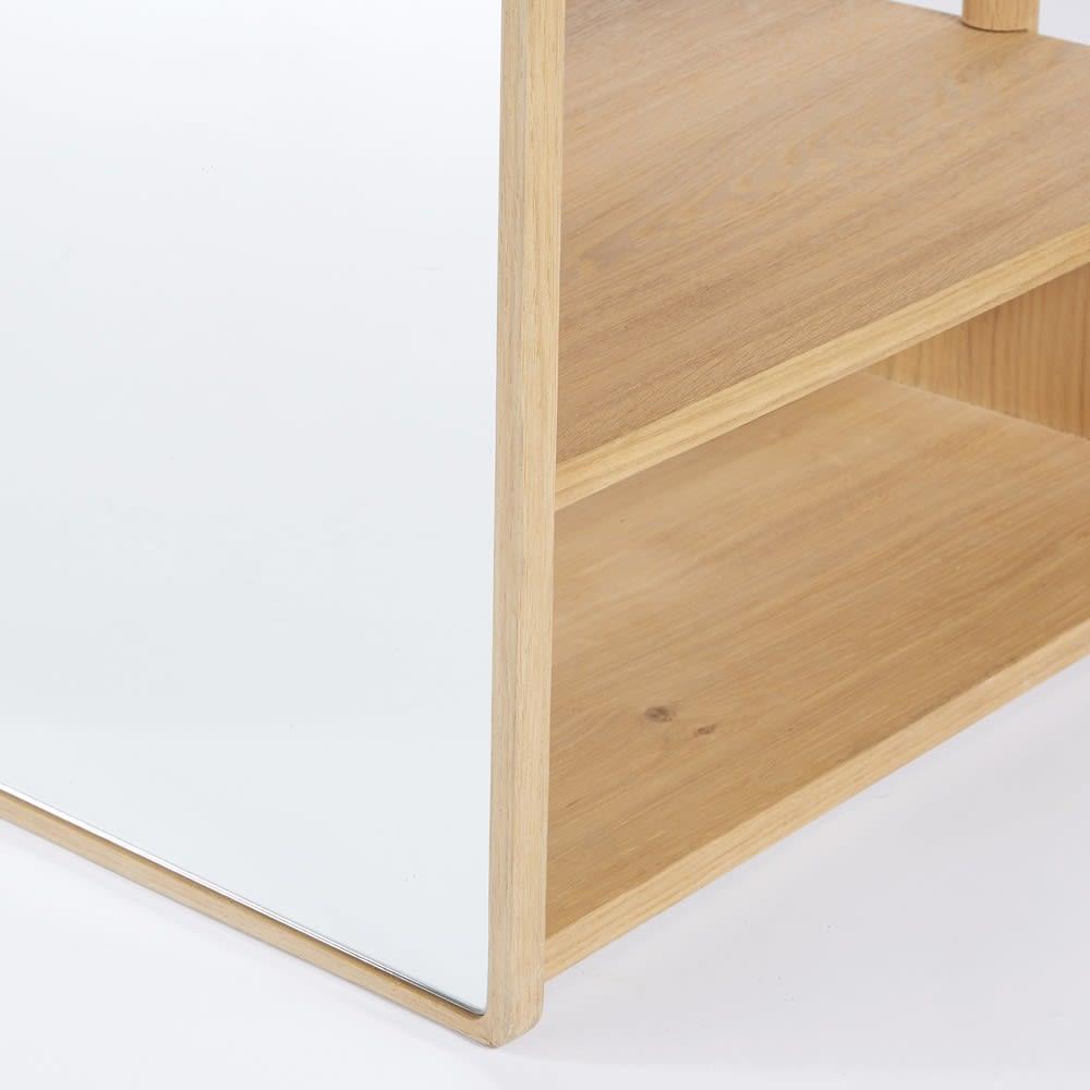 meuble d 39 entr e avec miroir norman maisons du monde. Black Bedroom Furniture Sets. Home Design Ideas