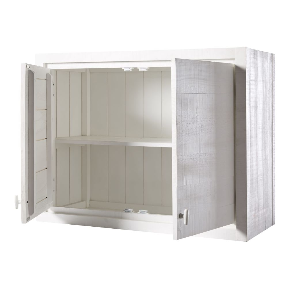 meuble haut de cuisine 2 portes blanc embrun maisons du monde. Black Bedroom Furniture Sets. Home Design Ideas