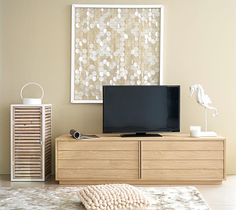 meuble tv 2 portes sand maisons du monde. Black Bedroom Furniture Sets. Home Design Ideas
