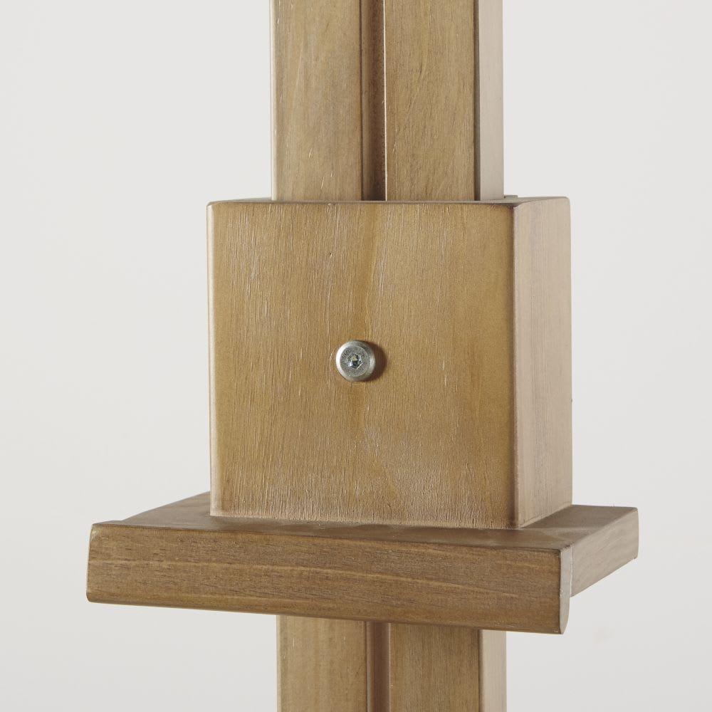 meuble tv chevalet 1 tiroir en pin massif andy maisons. Black Bedroom Furniture Sets. Home Design Ideas