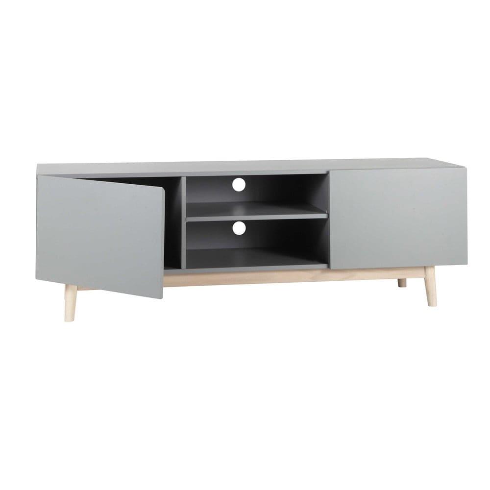 meuble tv style scandinave gris artic maisons du monde. Black Bedroom Furniture Sets. Home Design Ideas