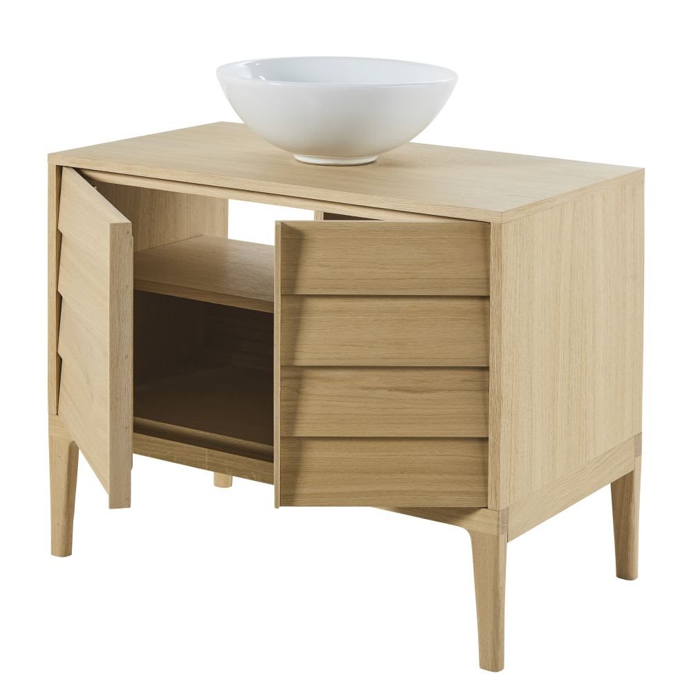 meuble vasque 2 portes sand maisons du monde. Black Bedroom Furniture Sets. Home Design Ideas