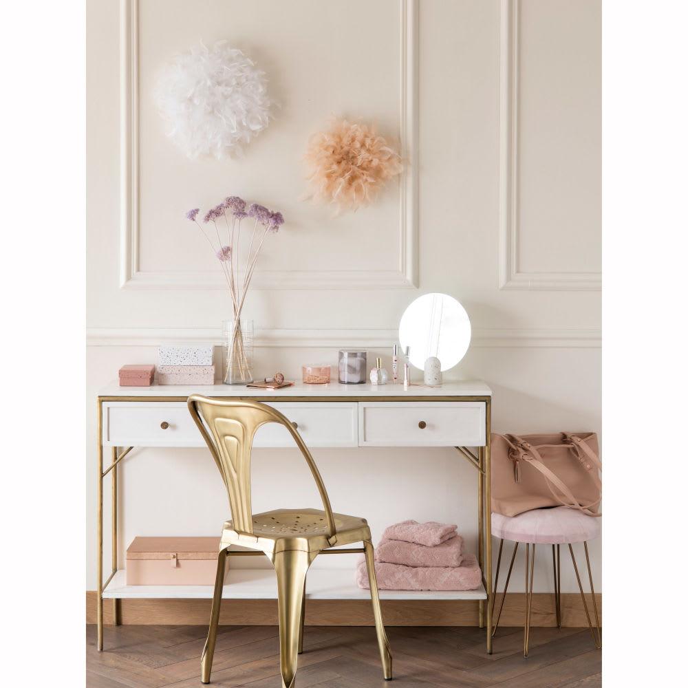 miroir poser avec support en marbre 25x30 terrazzo. Black Bedroom Furniture Sets. Home Design Ideas