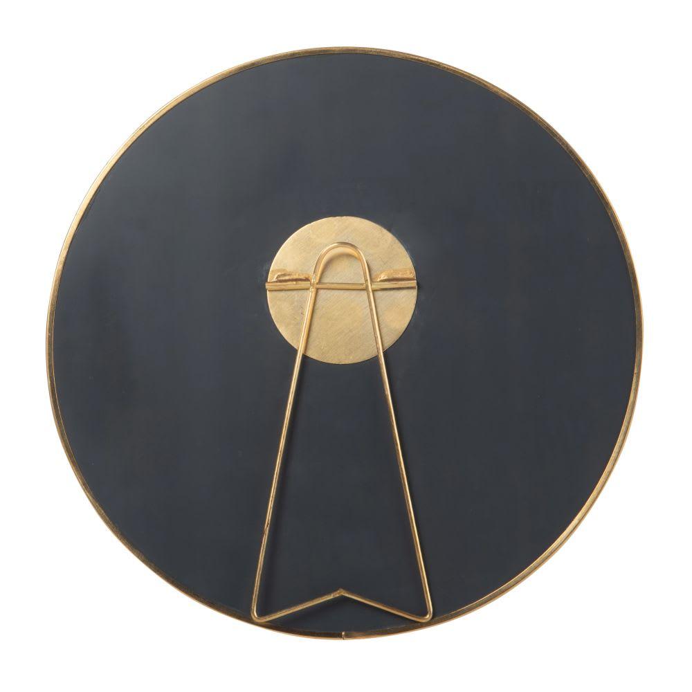 miroir poser en m tal dor mat d20 elysia maisons du monde. Black Bedroom Furniture Sets. Home Design Ideas