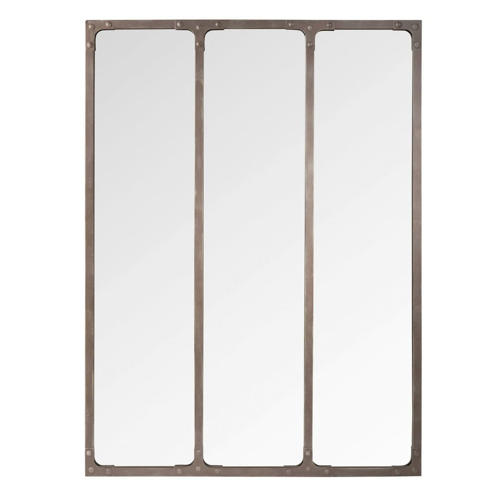 Miroir en métal 60 x 80 cm Bagel   Maisons du Monde